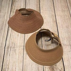 Accessories - Lot of 2 Women's Sun/Shade Hats